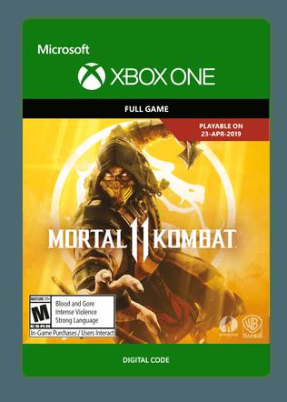 Xbox Mortal Kombat 11