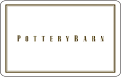 Pottery Barn Simple Gift Card