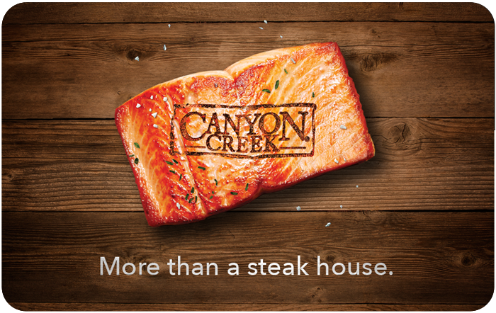 Canyon Creek eGift