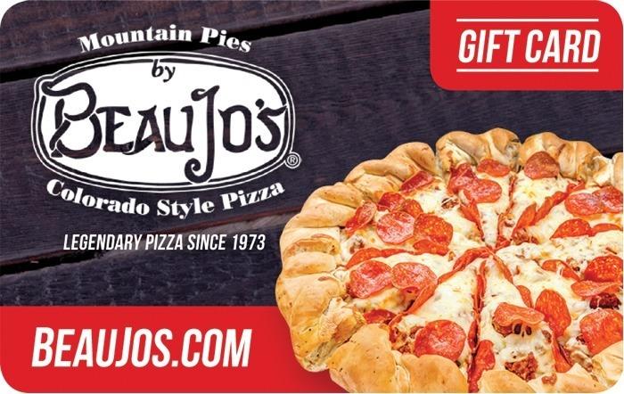 Beau Jos Colorado Style Pizza eGift Card