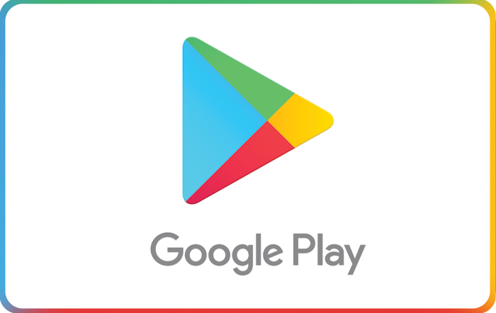 Google Play Store eGift Cards