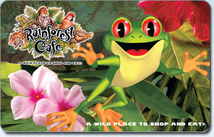 Rainforest Cafe eGift