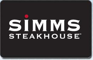 Simm's Steakhouse eGift