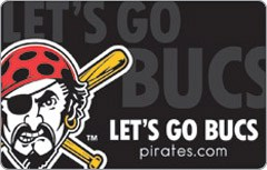 Pittsburgh Pirates Gift Card