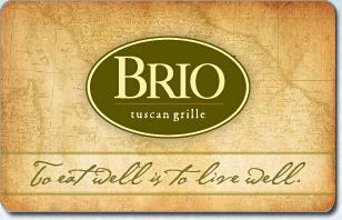 Brio Tuscan Grill eGift Card