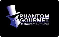 Phantom Gourmet Restaurant Gift Card