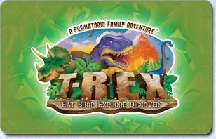 T-Rex Cafe eGift Card
