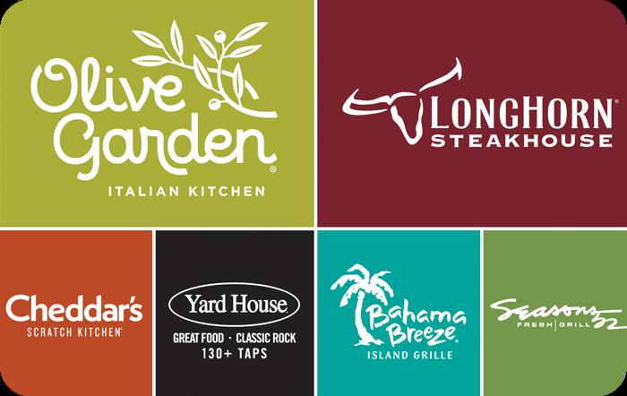 Darden Restaurants eGift Card