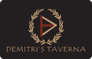 Demitris Taverna eGift Card