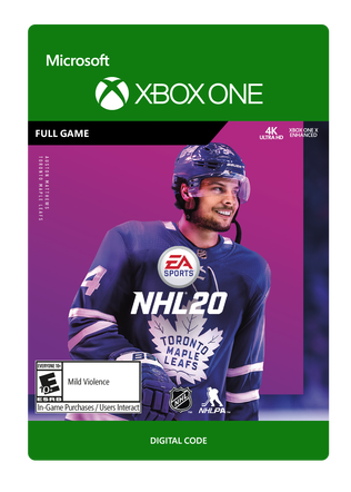XBOX C2C NHL 20: STANDARD EDITION $59.99