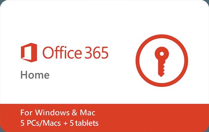 MS Office 365 Home $99.99 eGift