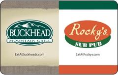 Buckhead Mountain Grill / Rocky's Gift Card