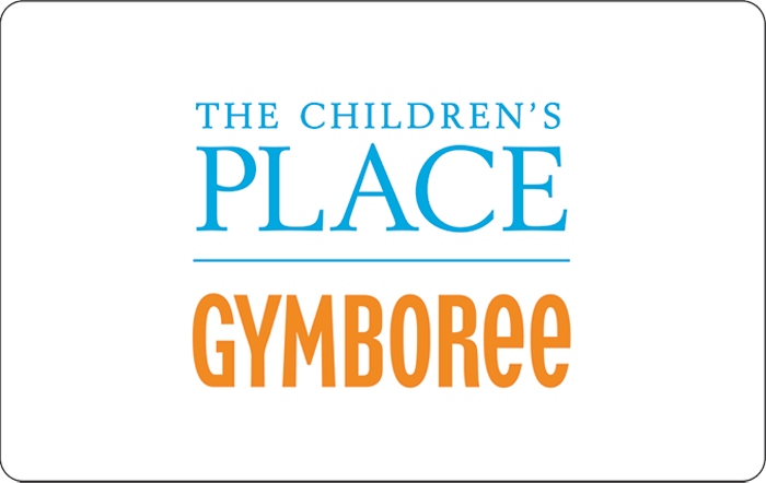 The Children's Place and Gymboree eGift Card