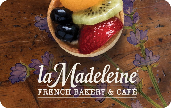 la Madeleine Country French Café eGift