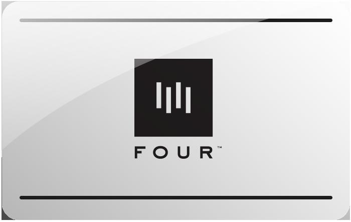 Four eGift card