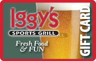 Iggys Sports Grill eGift Card