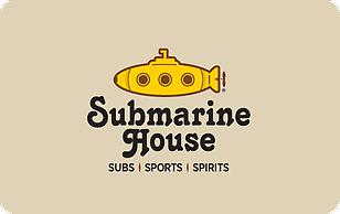 Submarine House eGift