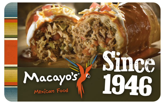 Macayo's Mexican Kitchen eGift Cards