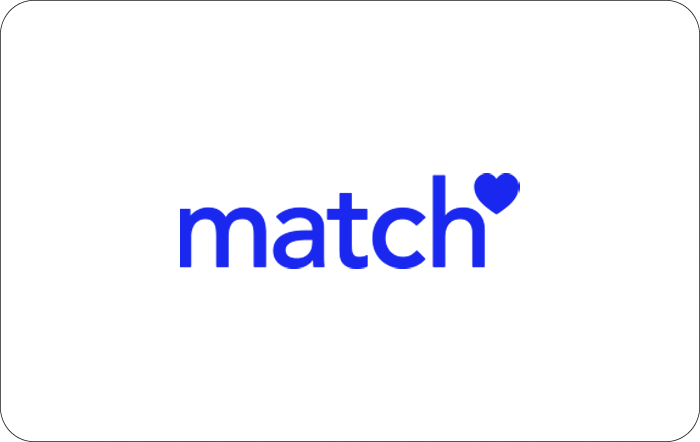Match.com $30 eGift Card