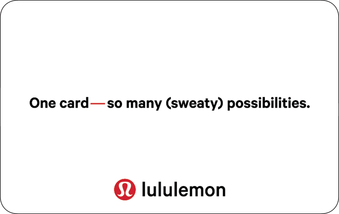 Lululemon eGift Card