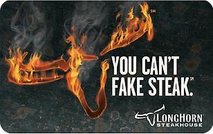 LongHorn Steakhouse® eGift Cards