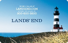 Land's End Gift Card
