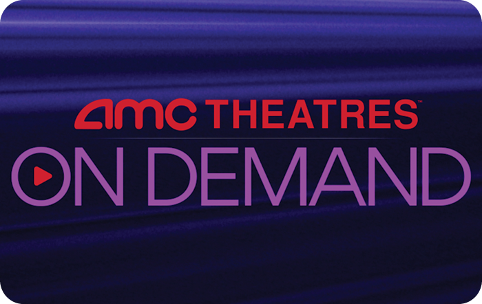 AMC THEATRES ON DEMAND eGift Card