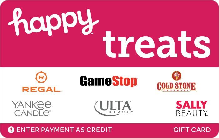 Happy Treats Gift Card