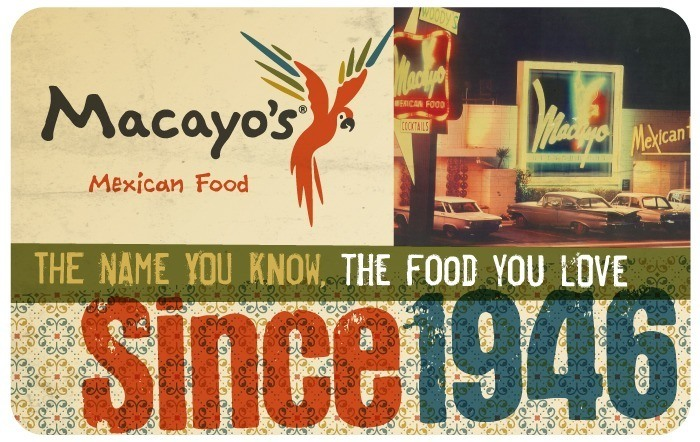 Macayo's Mexican Food eGift Card