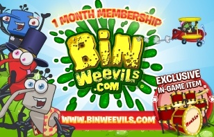 Bin Weevils 1 Month Membership eGift Card