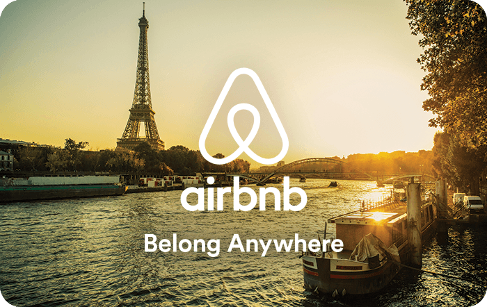 Image result for airbnb gift card
