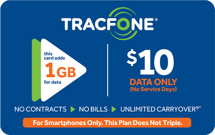 TRACFONE Prepaid Phone Cards (e-delivery)