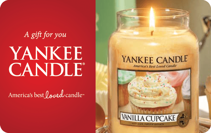 Yankee Candle Gift Card