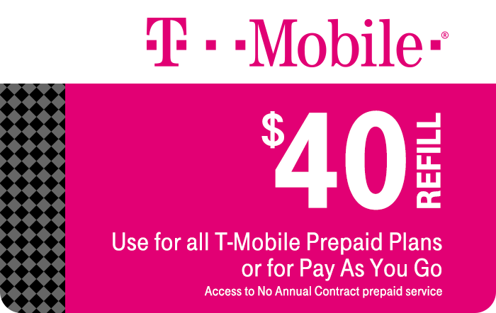 T-Mobile Prepaid Phone Card (e-delivery)