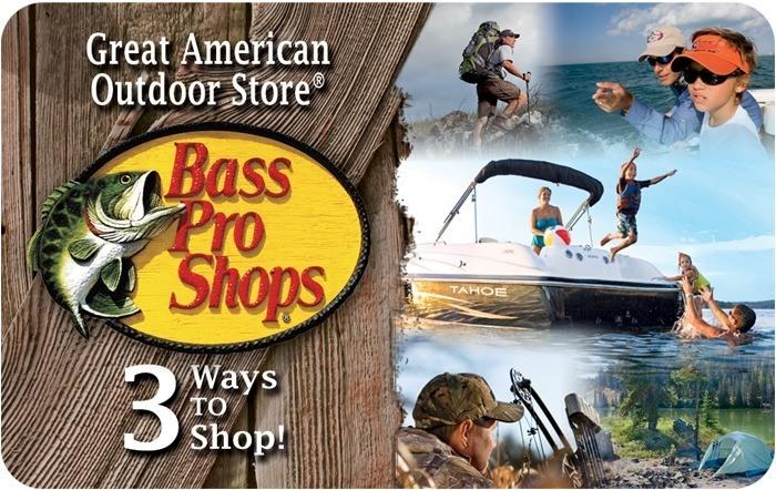 Promotion of Bass Pro Shops® eGift