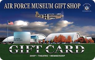 Air Force Museum Shop eGift Cards