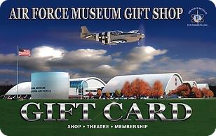 Air Force Museum Gift Shop eGift