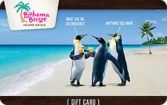 Bahama Breeze® Gift Cards