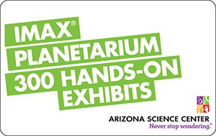 Arizona Science Center eGift Cards