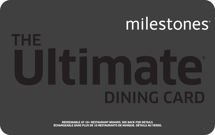 Milestones eGift Card