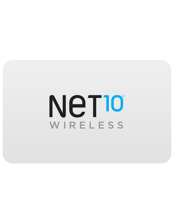 Net 10 Prepaid Phone Card (e-delivery)