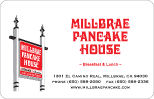 Millbrae Pancake House eGift Card