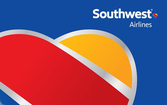 Promotion of Southwest Airlines eGift
