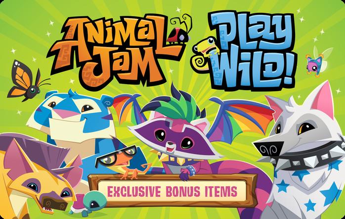 Animal Jam eGift Cards