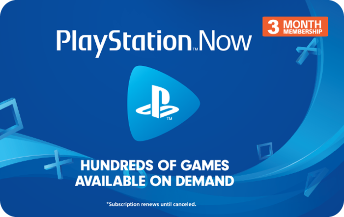 Sony PS NOW 3 Month Promotion eGift