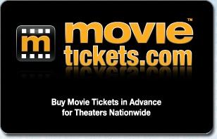 MovieTickets.com $35 eGift