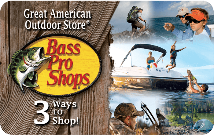 Bass Pro Customizable Gift Card
