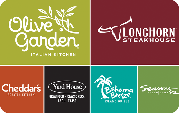Darden Restaurants® Gift Card