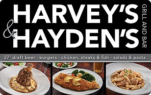 Harveys & Haydens Grill and Bar eGift Card