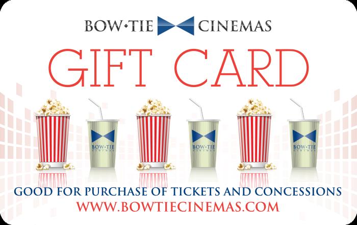 Bow Tie Cinemas Gift Cards